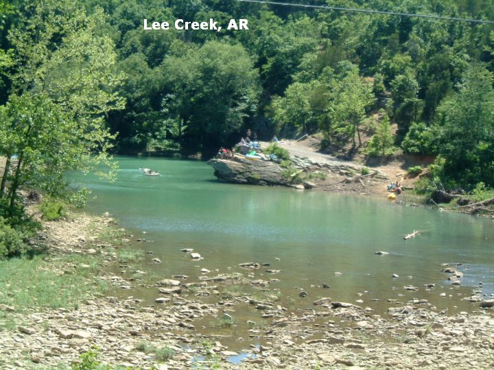 Lee Creek Arkansas Pinterest