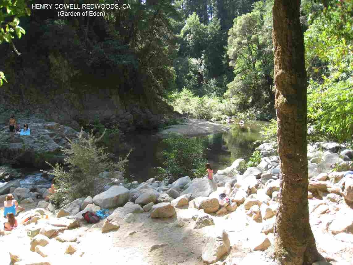 SwimmingHoles.info CALIFORNIA SWIMMING HOLES