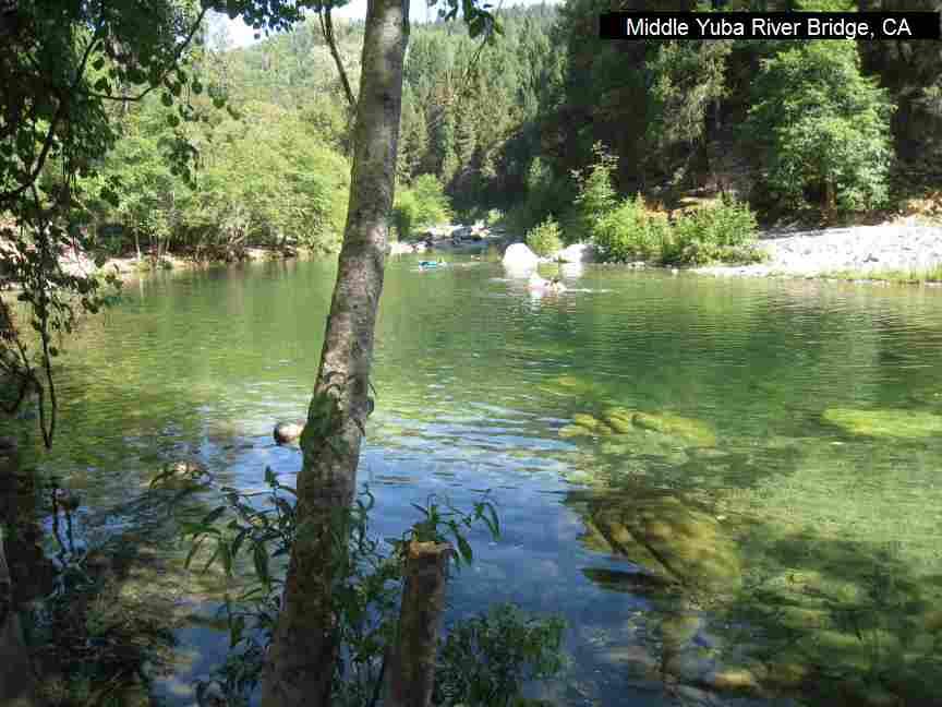 Yuba River Swimming Holes
