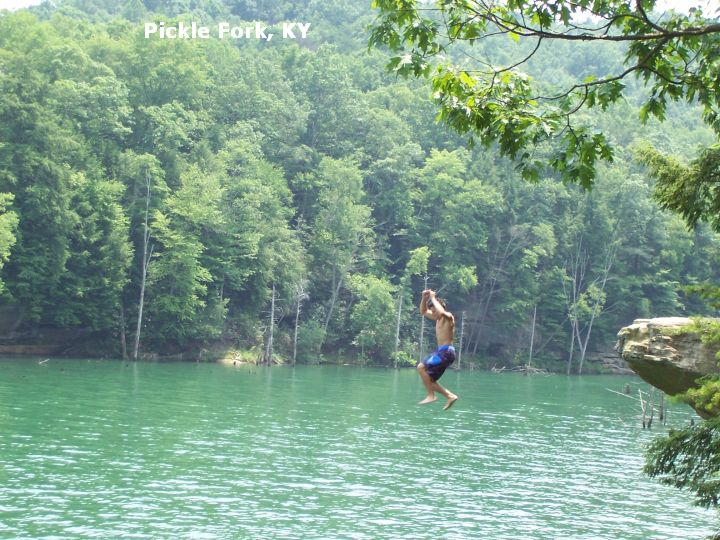 Swimmingholes Info Kentucky Swimming Holes And Hot Springs