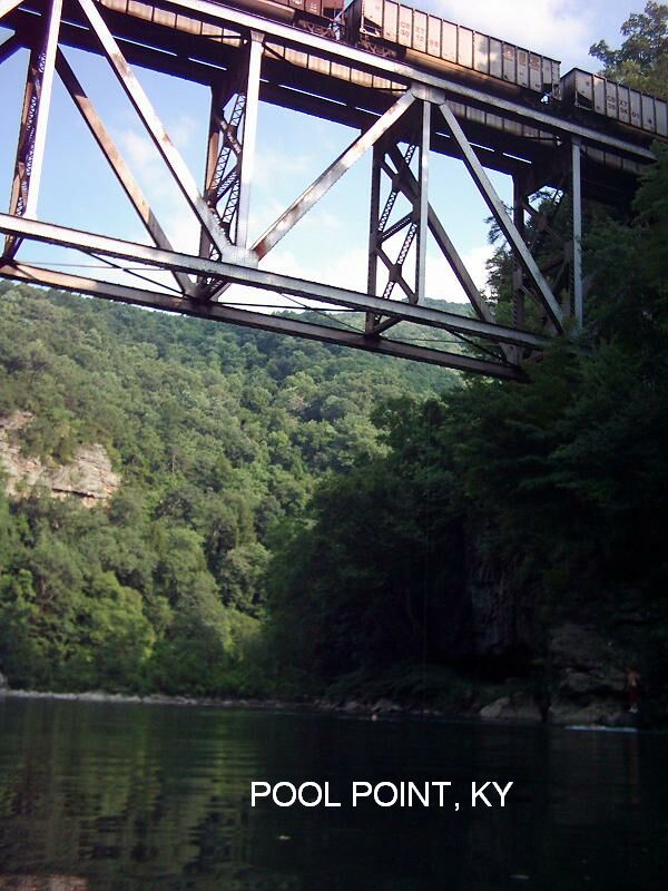 Kentucky swimming holes and hot springs for Fishing in louisville ky