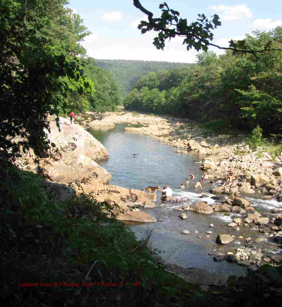 Swimmingholes Info Maryland Swimming Holes And Hot Springs