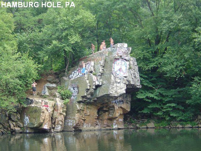 Whatcha been up to Joey?: Raccoon Rock, aka Hamburg Hole, aka