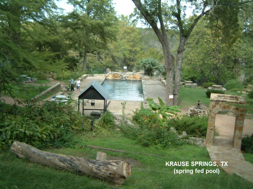 Swimmingholes Info Texas Swimming Holes And Hot Springs