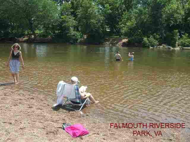 Virginia swimming holes and hot springs rivers creek springs falls hiking for Dixon park swimming pool fredericksburg va