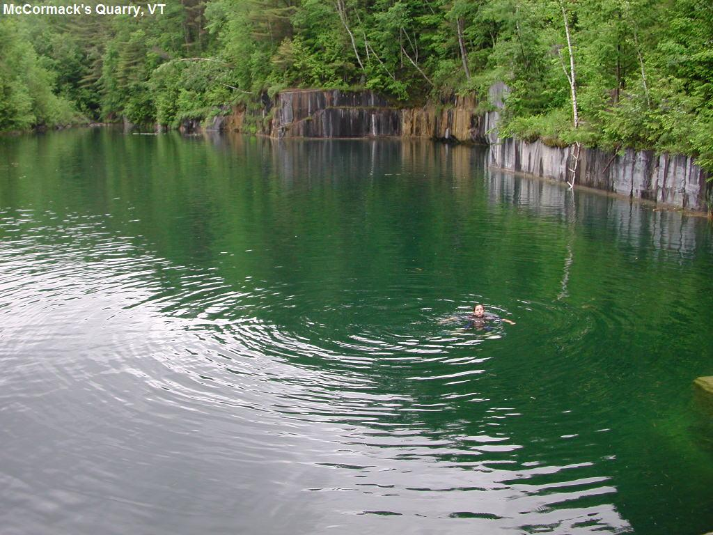 The Incredible Spring-Fed Swimming Hole In Vermont You